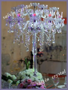 Gorgeous Wedding Table Decoration Crystal Table Chandelier Zt-184