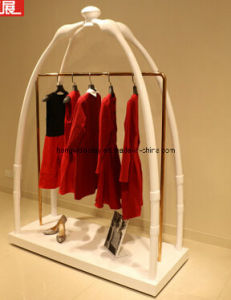 Ladies Garment Display Rack with Coating Black Color pictures & photos