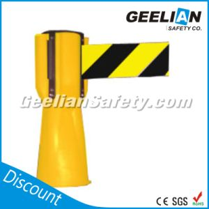 Roadway Safety Polypropylene Yellow Retractable Traffic Cone Topper