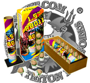 Festival Balls Artillery Shells 1.5′′ Fireworks Factory Direct Price pictures & photos