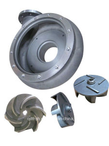 OEM Stainless Steel Investment Casting, Lost Wax Casting for Impellers