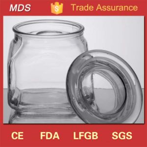 Factory Sale High Quality Airtight 10 Oz Glass Jars with Lid pictures & photos