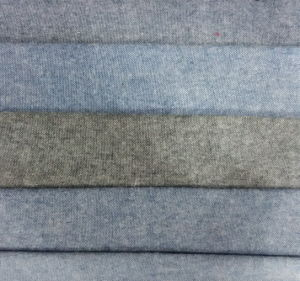 Cotton Brushed Oxford Shirt Fabric pictures & photos