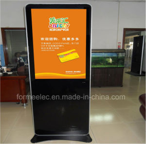 42 Inch Floor Stand Media Player Advertising Machine 500 CD/M2 pictures & photos