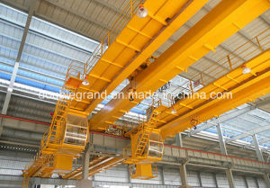 Double Girder Overhead Crane with Electric Hoist pictures & photos