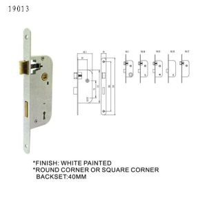 European Door Handle Lock Body Mortise Lock pictures & photos