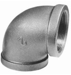 China Malleable Iron Pipe Fittings Elbow Galvanized Pipe