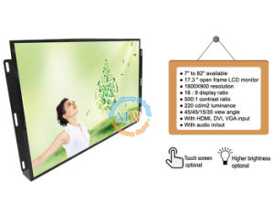 "17.3"" Open Frame LCD Monitor with 16: 9 Resolution 1600*900 (MW-171ME) pictures & photos"