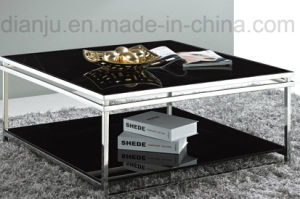 Home Furniture Modern Stainless Steel Coffee Table (CT021L)