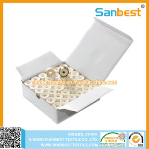 Sideless, Cardboard Sided, Plastic Sided Pre-Wound Bobbins Thread for Embroidery Purpose pictures & photos