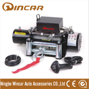 Electric Winches 9500lbs, Manual Control Fast Speed Electric Winch