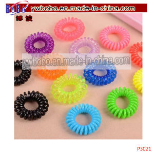 Hair Jewelry Elastics Rubber Bands Braids Best Christmas Gift (P3020) pictures & photos