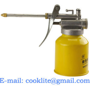 Steel Pistol Oiler Lever Hydraulic Pump Oil Can Lubricating Lathe (QH001) pictures & photos