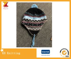 2017 Wholesale Embroidery Earflap Hat