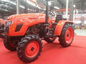New 35HP Four-Wheel Driving Wheel Tractor with Diesel Engine of Kubota Type (OX354)