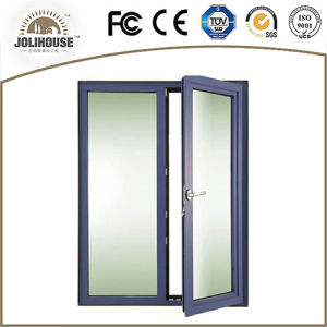 Ce Certificate Approved Aluminum Casement Doors pictures & photos