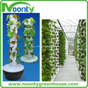 Garden and Horticultural Aeroponics Growing Tower System with Pump for Vegetable and Flower and Fruit