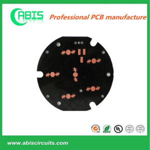 Black OSP Finished Aluminum Based PCB Board LED OEM pictures & photos