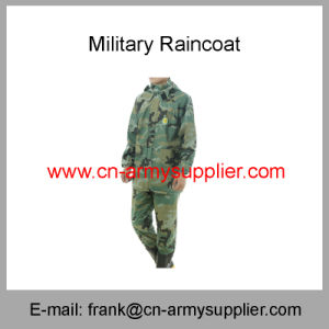Reflective Raincoat-Security Raincoat-Traffic Raincoat-Police Raincoat-Duty Raincoat-Army Raincoat pictures & photos