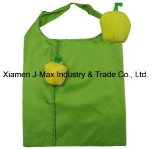 Foldable Shopper Bag, Fruits Yellow Bell Pepper Style, Reusable, Lightweight, Grocery Bags and Handy, Gifts, Promotion, Accessories & Decoration pictures & photos