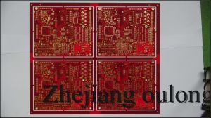 Surface Treatment: Enig Immersion Gold Assembly PCB Board with RoHS pictures & photos