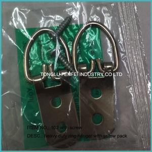 No 101 Picture Frame Hardware Strap Ring Hook pictures & photos