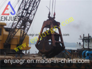 Four Ropes Clam Shell Dredging Grab Price Bucket for Dredger pictures & photos