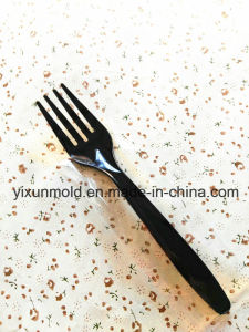 Customized Fruits Fast Food Ecofriendly Plastic Injection Fork pictures & photos