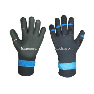 Neoprene Gloves for Diving and Fishing (HX-G0023) pictures & photos