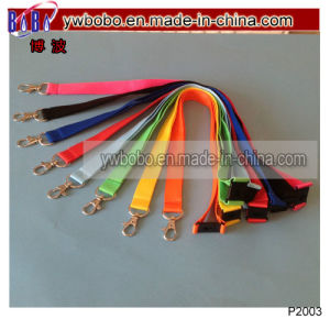 Polyester Lanyards Work School Office Neck Lanyard (P2003) pictures & photos