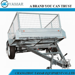Fully Welded Tipping Trailer pictures & photos