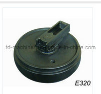 Front Idler E320 Excavator in Excavator Undercarriage Spare Parts Bulldozer Construction