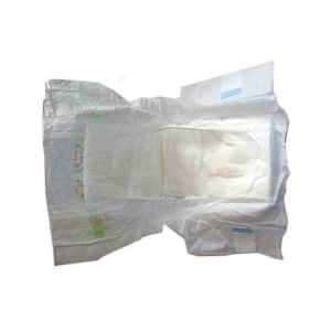 Customizing Specification White Film Normal Quality Baby Diapers
