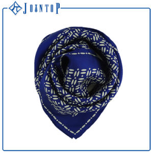 Women Silk Scarf with Custom Logo Design Digital Printed Silk Scarf pictures & photos