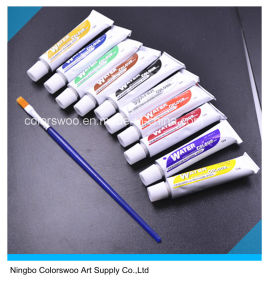 10*12ml Non Totic Water Color Paint in Aluminum Tube pictures & photos