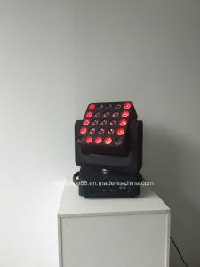 LED 5*5 25pcsx10W Matrix Panel Beam Moving Head Light pictures & photos
