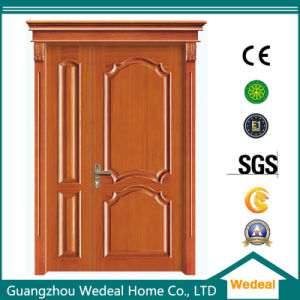 Manufacture Wooden Entry Door for Hotels pictures & photos