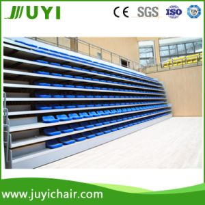 Jy-706 Indoor Tribune Retractable Seats Bleachers Plastic Seating pictures & photos