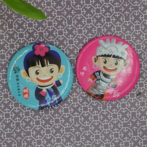 Business Gift Souvenir Promotion Round Shape Buttons Badge / Custom Made Plastic Buttons pictures & photos