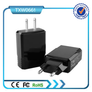 Us Plug Double USB 5V 2.1A Fast Charging Wall Charger