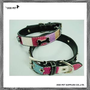 Colorful Glitter Dog Collars (SPC7123) pictures & photos