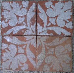 China Rustic Handmade Terracotta Tile (Printed) - China ceramic tile ...