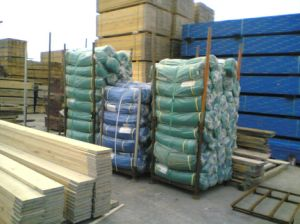 Scaffold Debris Nets