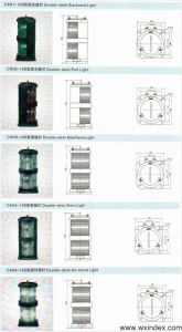 Cxh-10s Double-Deck Stainless Steel Navigation Signal Light