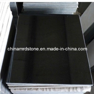 Shanxi Black Granite Stone Flooring Tiles with Polished Surface