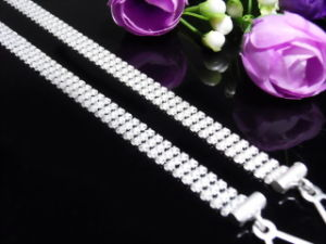 Metal Strap (MFW016) Rhineston Crystal Bra Straps Bra Accessories