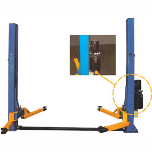 Double-Cylinder Hydraulic Lifter, Car Lift Equipment (QJY3.0-D) pictures & photos