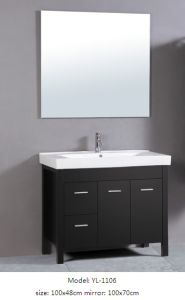 Bathroom Furniture with Ceramic Basin Sanitary Ware Cabinet