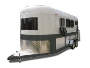 Horse Trailer 3 - Horse Slant Load Lengthened Trailer (CK-3HAL-L500)