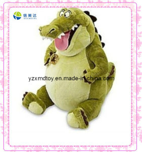 Green Laughing Stuffed Dinosaur Toy pictures & photos